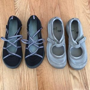 Bundle of outdoor shoes